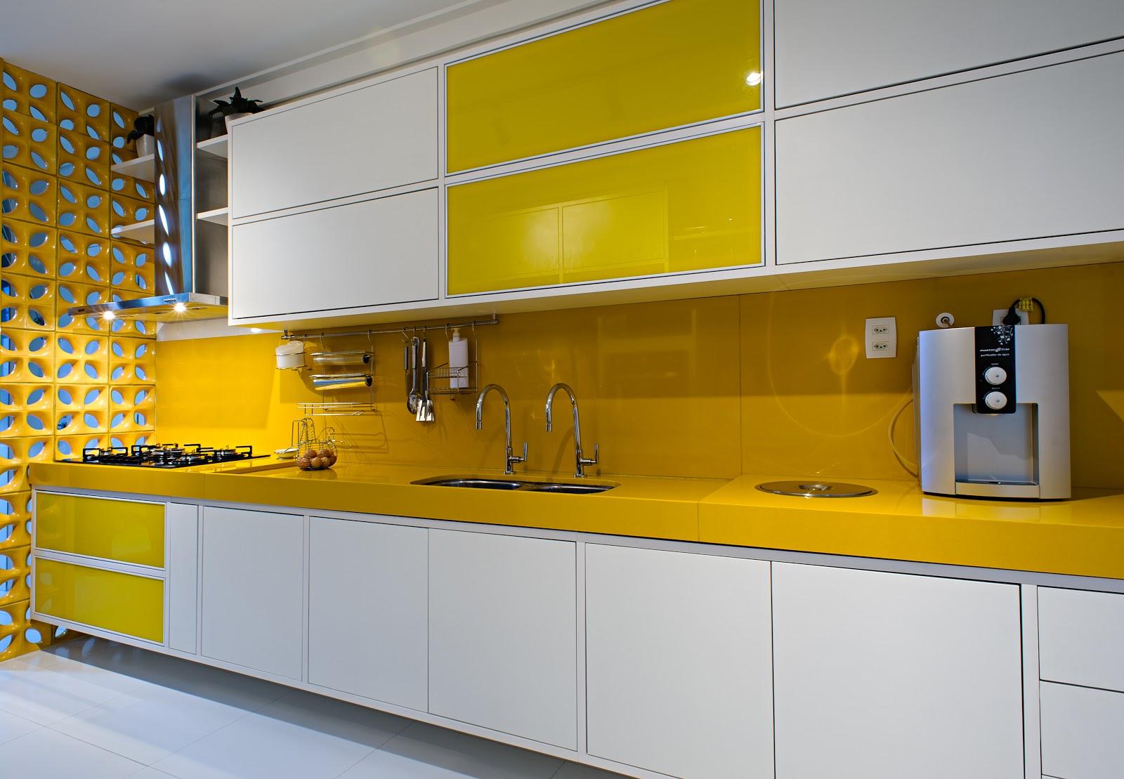 Silestone Amarelo Para Cozinha Blog De Decora O Casa Decorada
