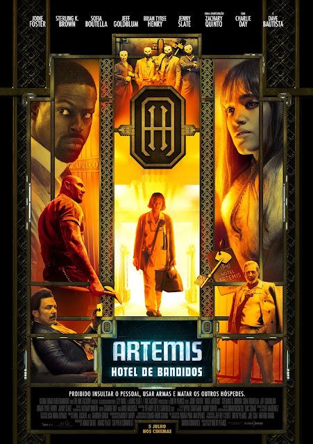 "Passatempo: ""Artemis - Hotel de Bandidos"" - Convites para as antestreias"