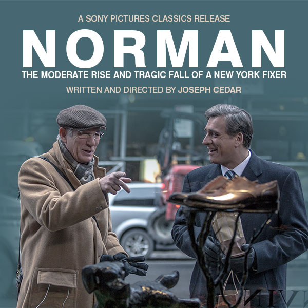 Norman: The Moderate Rise and Tragic Fall of a New York Fixer (2016) ταινιες online seires xrysoi greek subs