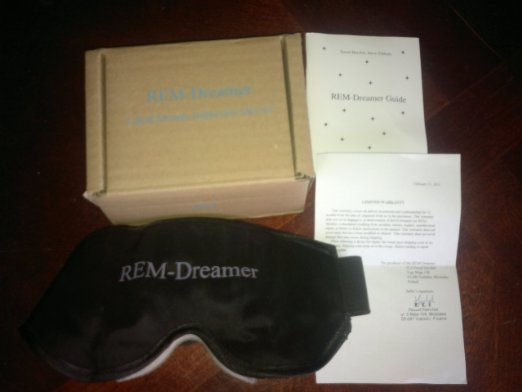 REM Dreamer Lucid Dreaming Induction Device - Wild Lucid Dreaming