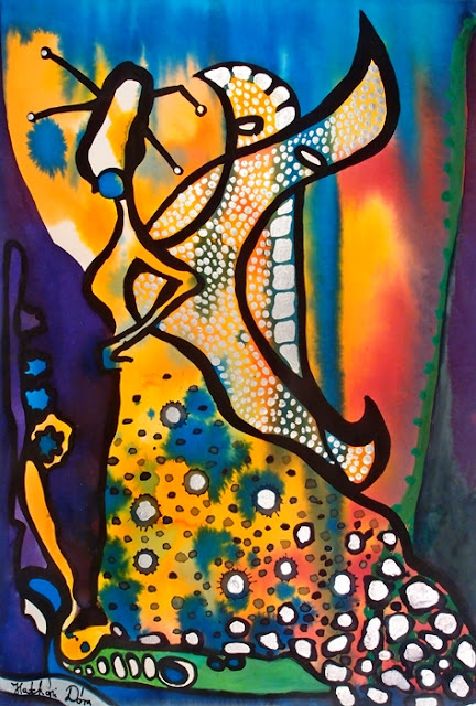 Fairy Queen painting by Dora Hathazi Mendes