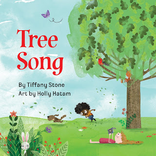 Tree Song - From starting as just a seed and growing into a strong tree, Tree Song shows the life cycle of a tree paired with playful text that changes with the seasons and over the years. Tree Song is a great book to pair with units or explorations of spring or fall. Kids will enjoy the rhyming text and colorful pictures. #TreeSong #NetGalley #trees #seeds #seasons