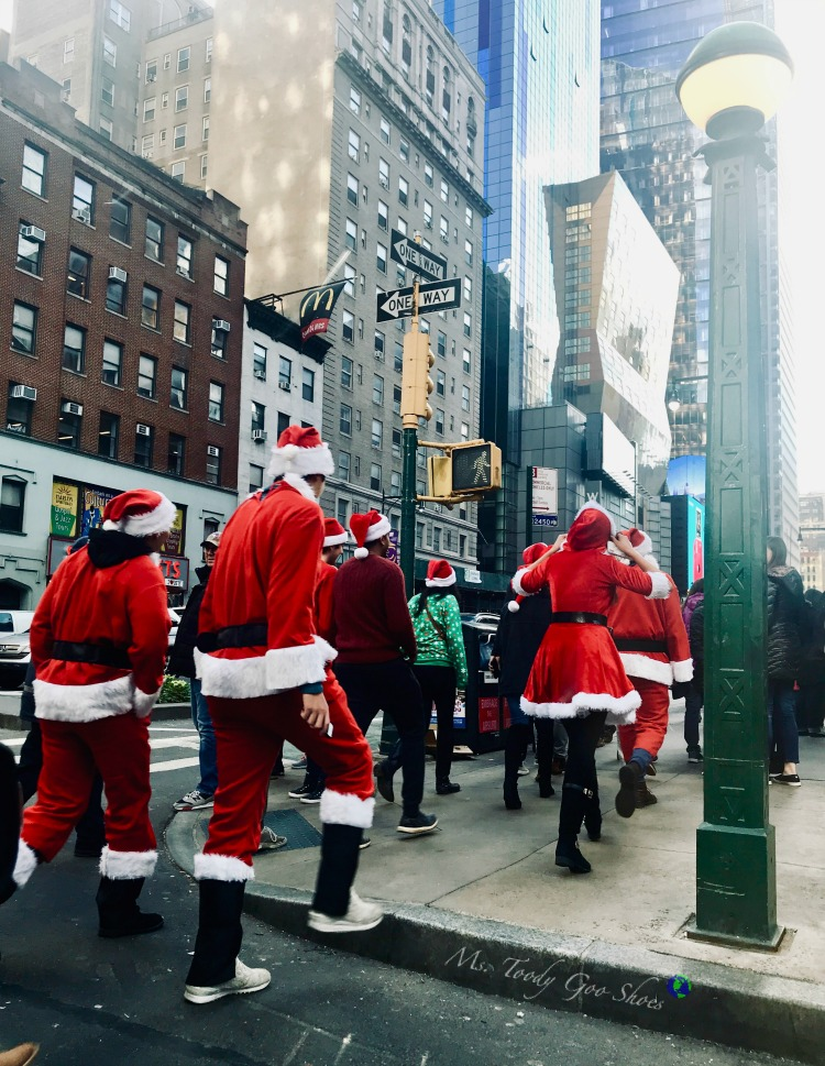 Santa Con NYC | Ms. Toody Goo Shoes