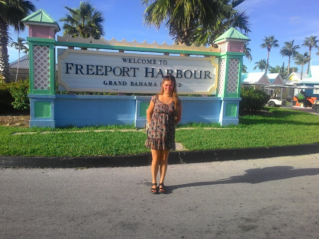 Freeport Harbour na Grand Bahama