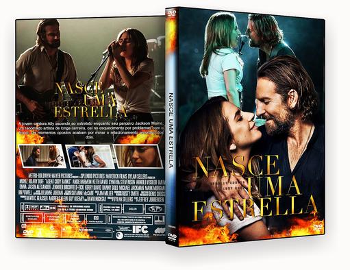 CAPA DVD – NASCE UMA ESTRELA (2018) DVD-R