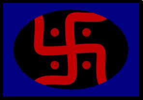 घर के मुख्यद्वार पर यह शुभ चिन्ह क्यों बनाया जाता है? Kyo banaya jata hai ghar ke mukhya dwar par yah shubh chinh?