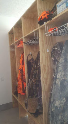 Whitetail Deer Hunting Lockers DIY