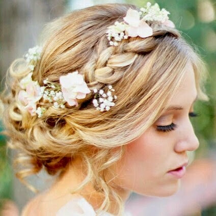 hairstyles vintage wedding