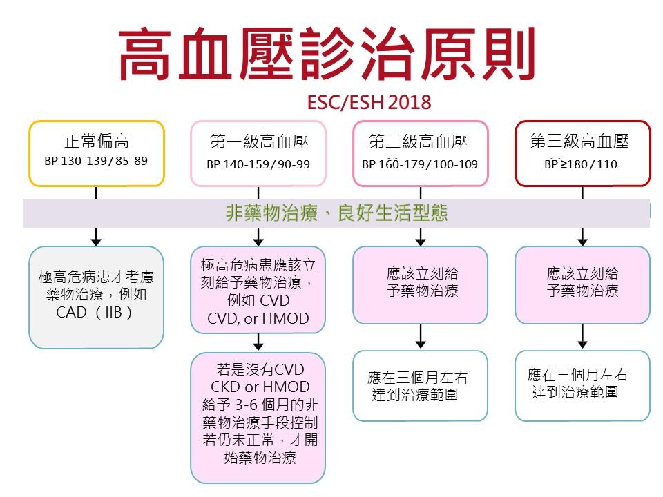 曹承榮: 2018 最新歐洲高血壓治療指引:十大要點 Ten Commandments of the 2018 ESC/ESH HTN Guidelines