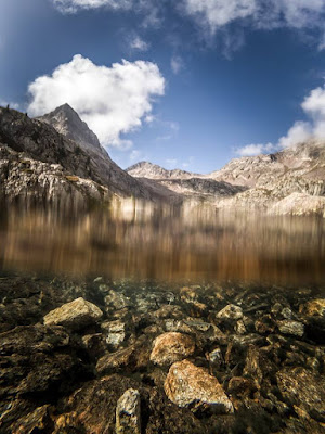 Bergsee Tete sud des Bresses