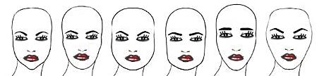 regulacja brwi ze względu na kształt twarzy