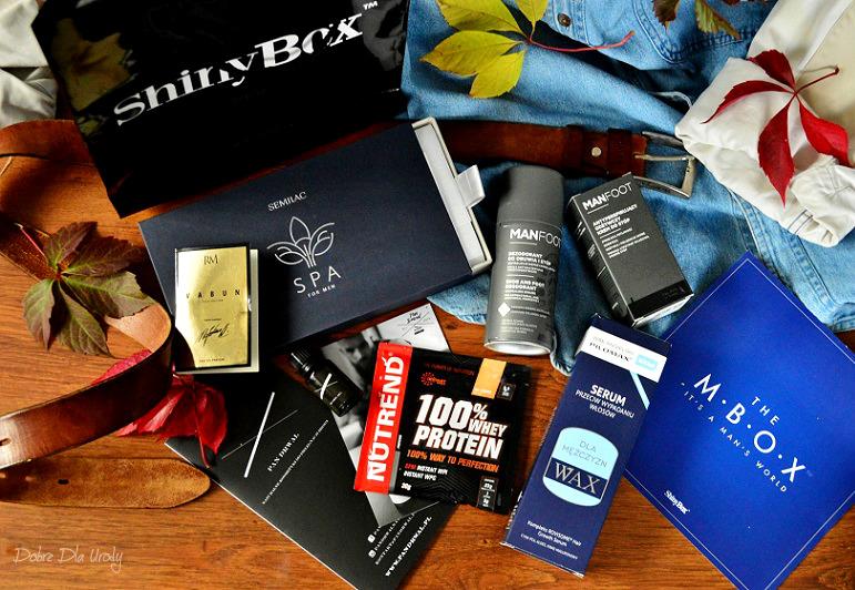 MBOX It's a man's world - męski zestaw kosmetyków od ShinyBox w sam raz na Dzień Chłopaka!
