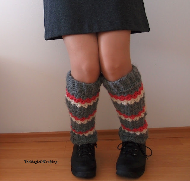 Free Crochet Patterns And Diy Crochet Charts Textured Leg Warmers