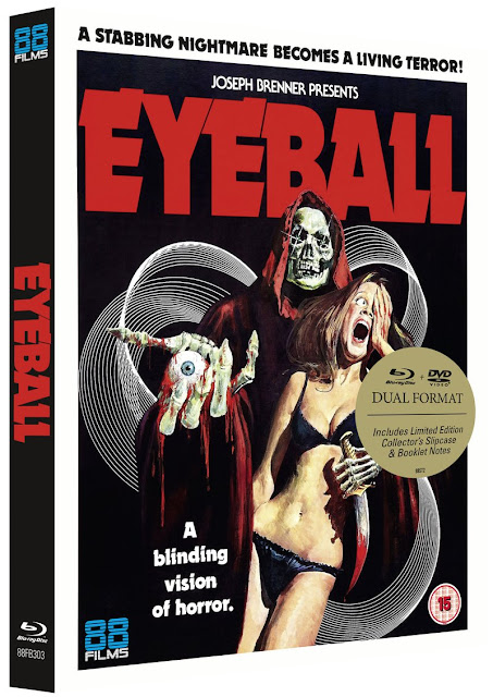 88 Films Pays Tribute to the Late Great Umberto Lenzi with a Mega-Edition of his All-Time Terror Classic EYEBALL (1975)!