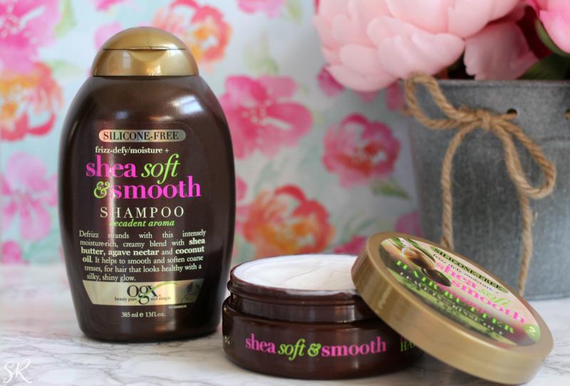OGX shea shampoo and conditioner