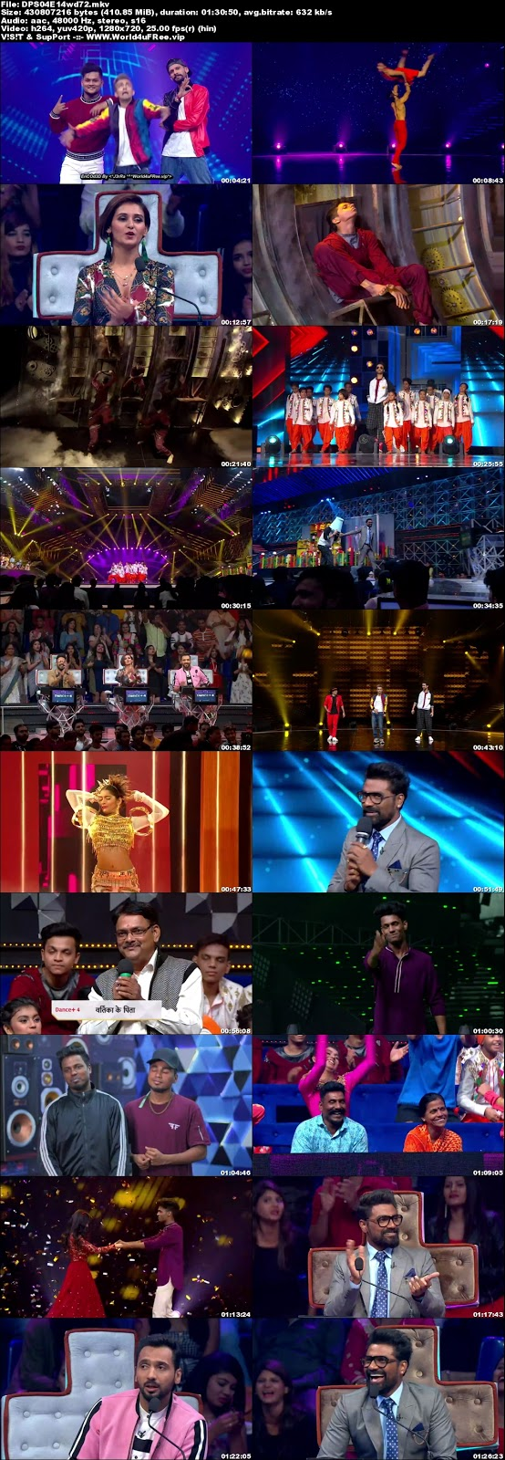 Dance Plus S4 24 November 2018 720p WEBRip 300Mb x264 world4ufree.vip tv show Dance Plus 4 2018 hindi tv show Dance Plus 4 2018 Season 4 Star Plus tv show compressed small size free download or watch online at world4ufree.vip