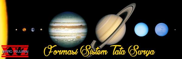 Sistem Tata Surya, Formasi Sistem Tata Surya, Planet