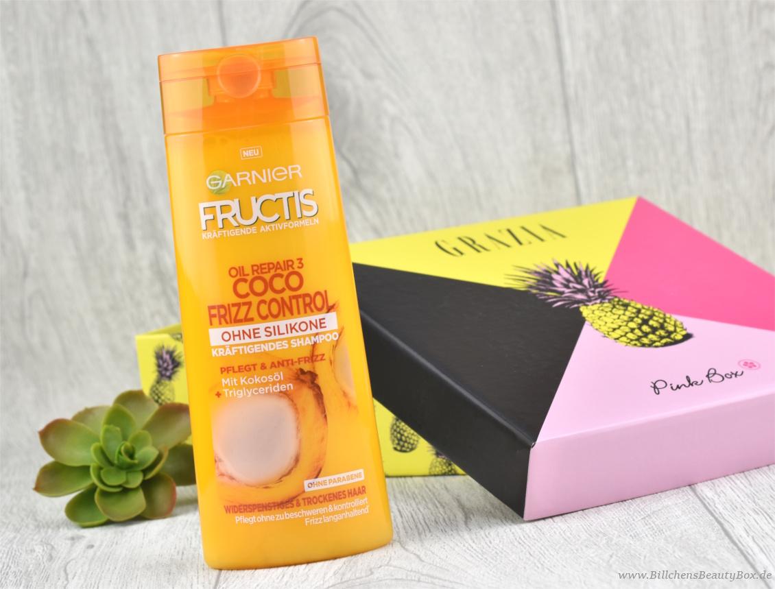 Pink Box Grazia - Juli 2017 - Fructis Coco Frizz Control Shampoo
