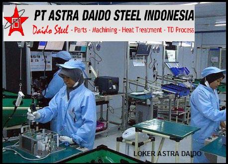 Lowongan Kerja Pt Daido Metal Indonesia 2013  Lowongan Kerja Pt Astra Daido Steel Indonesia Berita Lowongan Kerja