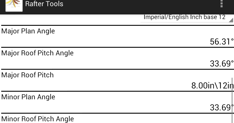 Roof Framing Geometry Calculate Irregular Hip Rafter Angles