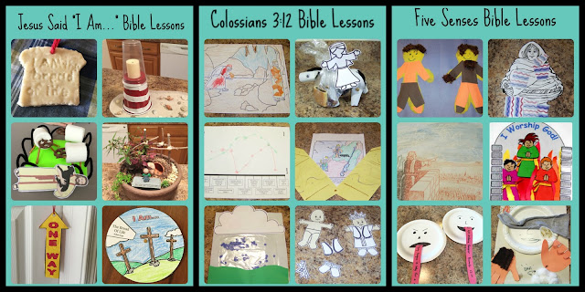 Free Themed Bible Lesson Units | scriptureand.blogspot.com