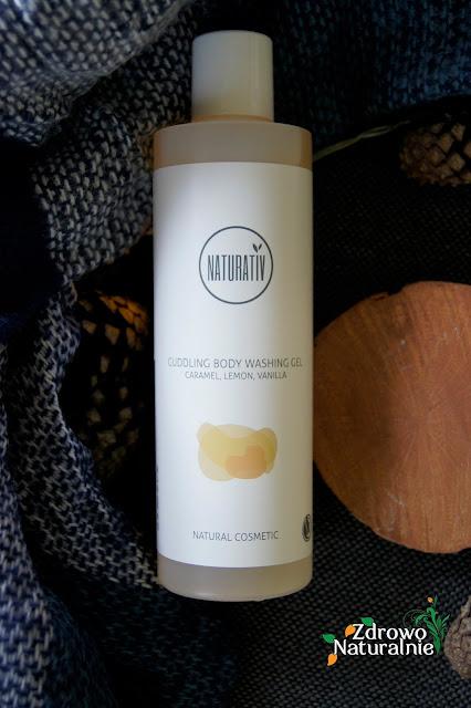 Naturativ - Otulający żel pod prysznic