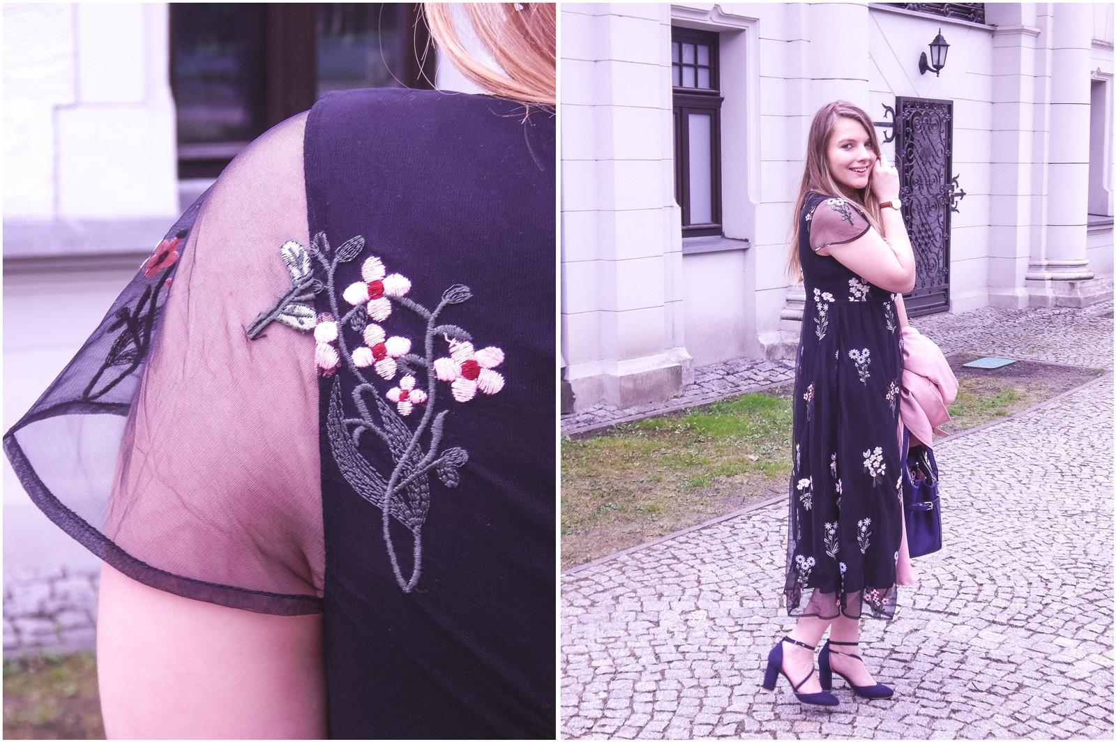 8a orsay trendy wiosna 2018 nowa kolekcja moda fashion blog blogerki modowe łódź z łodzi łódzkie melodylaniella fashion instagram sukienka na wesele różowy płaszcz granatowe pantofle duża torba