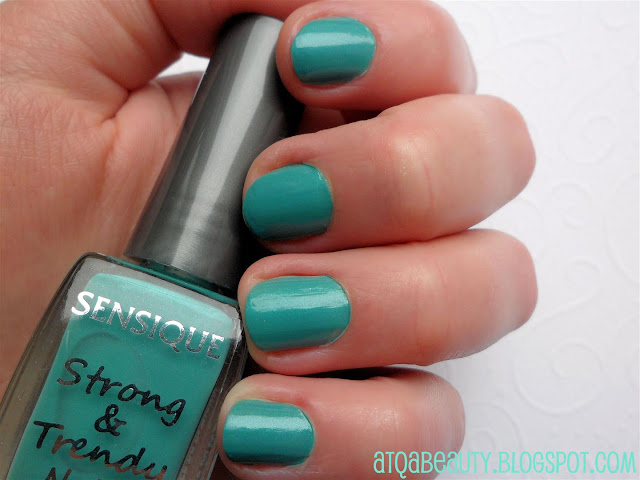 Paznokcie :: Sensique, Strong & Trendy Nails, 254 Sea Green