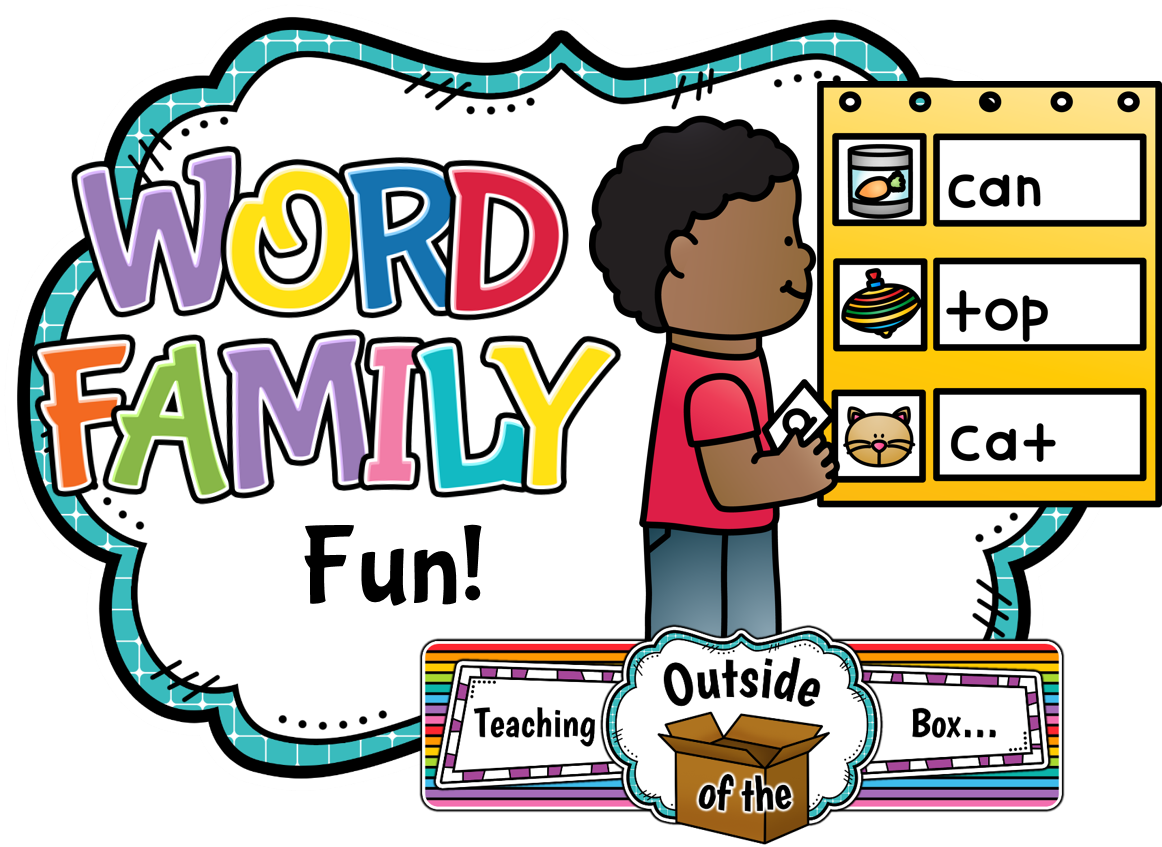 Teaching Outside Of The Box Word Family Fun