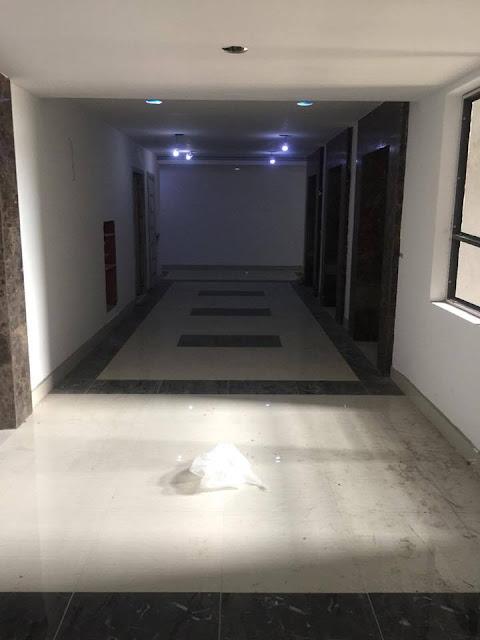 Hình ảnh sảnh chờ thang máy dự án chung cư Hateco Apollo Xuân Phương