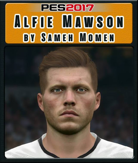 Alfie Mawson Face PES 2017
