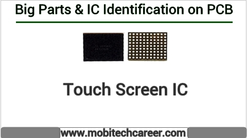 How to identify Screen touch ic pda ic on pcb of a mobile phone | All IC identification on PCB circuit diagram | Mobile Phone Repairing Course | iphone Repair | cell phone repair Hindi me