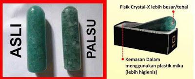 Dipercaya Crystal X Obat Keputihan