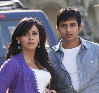 Jeeva and Tulasi Nair in Rangam Movie Romantic Stills