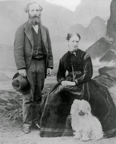 James and his Wife Katherine Maxwell  Photo