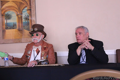 Steampunk in Film panel at Classic Comic Con 2016