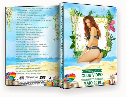 DVD-R – Promo Only Hot Video.Maio.2018 – AUTORADO