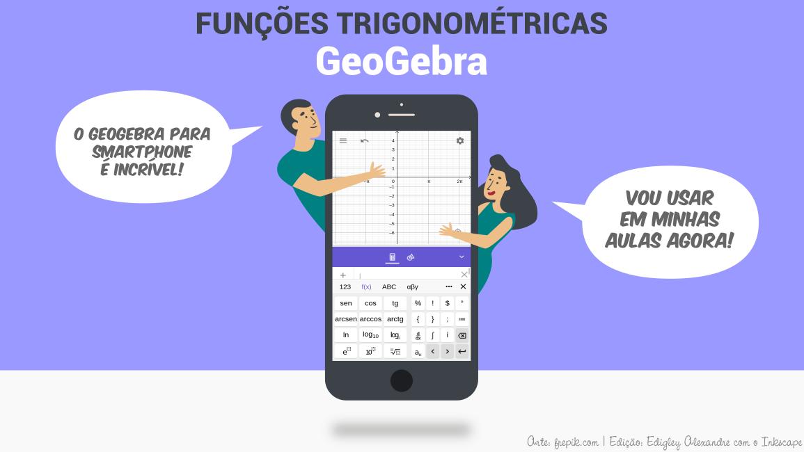 Como usar o seu smartphone para ensinar funções trigonométricas
