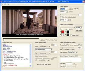 Download DVDSubEdit 1.52
