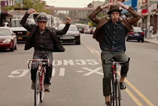while we're young film bike bicylce adam driver helmet hipster ben stiller noah baumbach