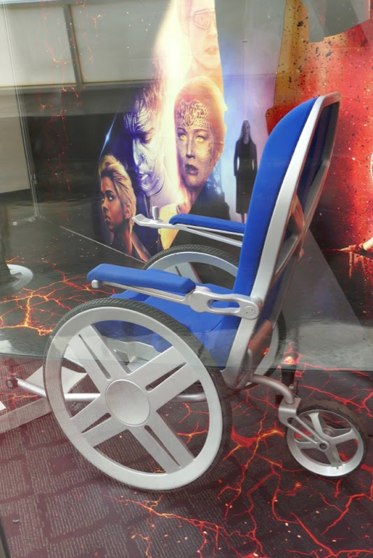 Professor X wheelchair prop Dark Phoenix