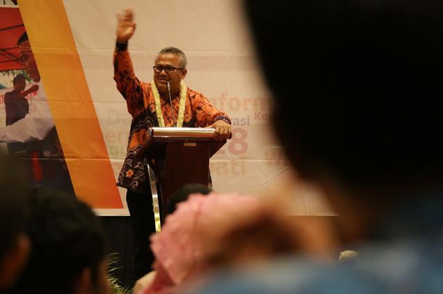 Ketua KPU RI Puji Pelaksaan Pilkada Kalsel