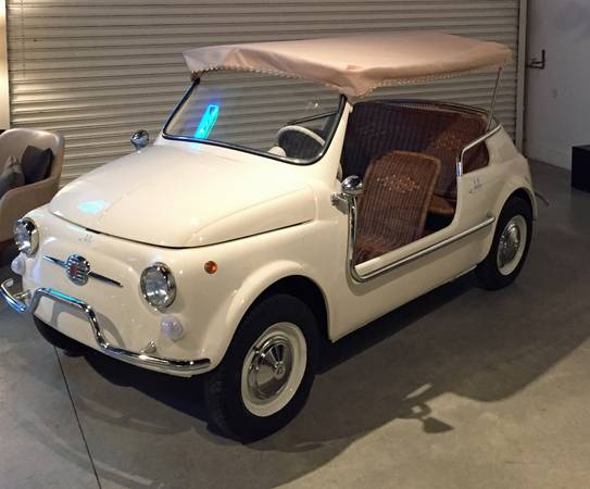 1971 Fiat Jolly Beach Car For Sale