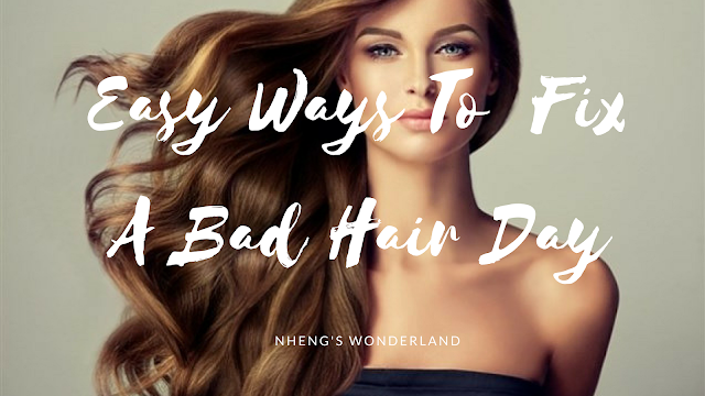 Easy Ways To Fix A Bad Hair Day