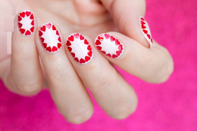 Red Heart Nail