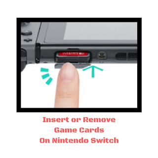Remove Game Cards On Nintendo Switch