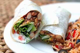 Chipotle Bean Burritos recipe