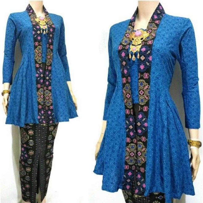 Gambar Model Batik Sarimbit Terbaru 2013: Baju Batik Sarimbit Modern Terbaru Trend Model Terbaru