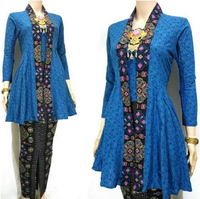 10 Model Baju Batik Sarimbit Modern Terbaru 2018: Baju Batik Sarimbit Modern Terbaru Trend Model Terbaru