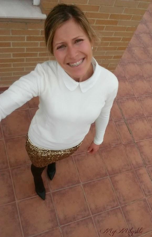 falda-lentejuelas-H&M-sueter-mango